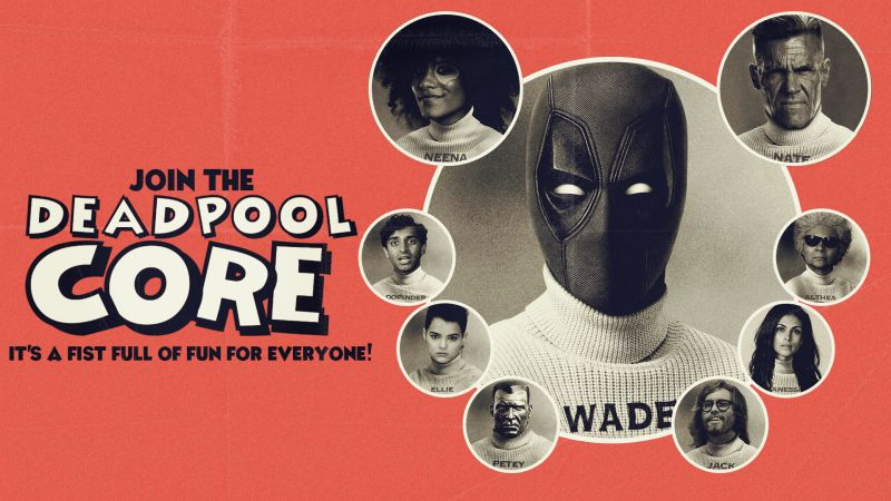 Fox Launches Deadpool Core for Exclusive Deadpool Updates