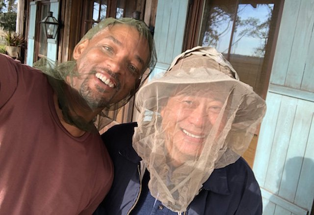 Actor Will Smith loves Georgia, just not our bugs