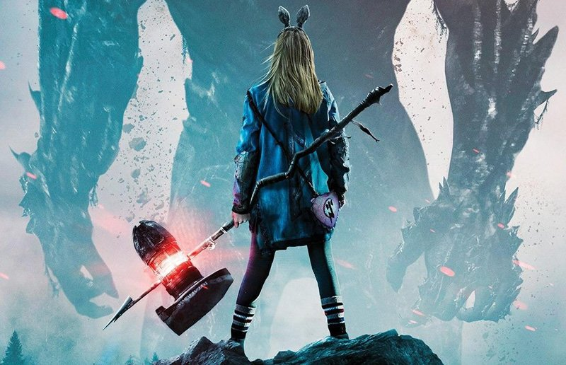 I Kill Giants Poster Stands Tall