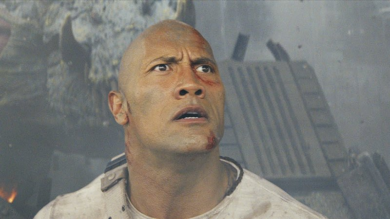 The New Rampage Trailer Featuring Dwayne Johnson