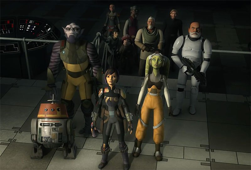 Star Wars Rebels Series Finale Trailer Portends Doom
