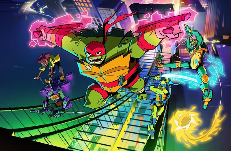 Nickelodeon Reveals New Look for Rise of the Teenage Mutant Ninja Turtles