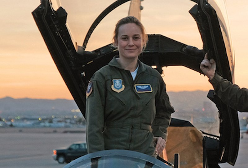 See Brie Larson in Action on the Captain Marvel Set
