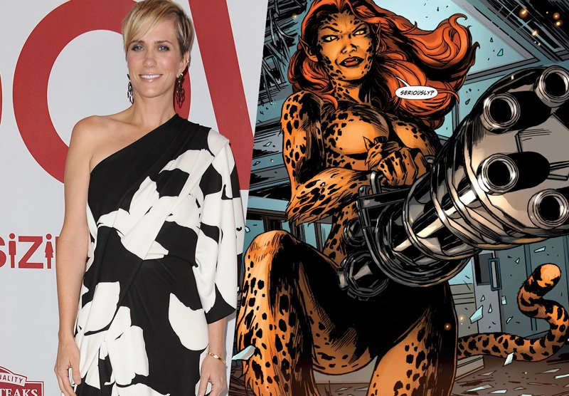 Kristen Wiig Confirmed as Cheetah for Wonder Woman 2!
