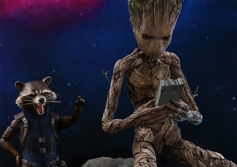 Teenage Groot and Rocket Hot Toys Revealed