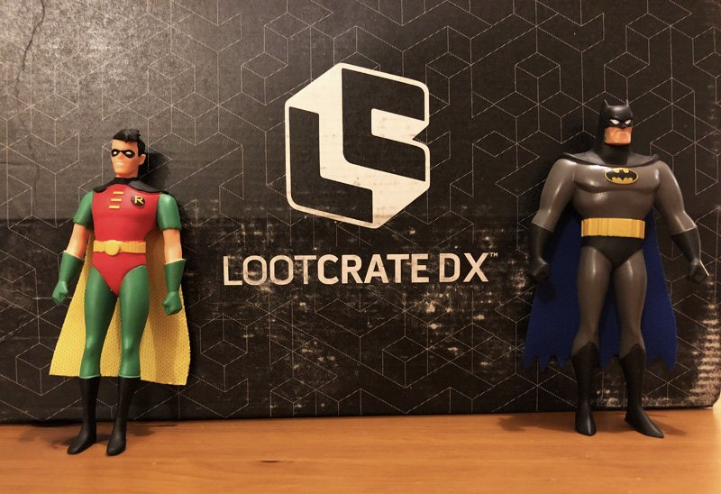 March 2018 Loot Crate + DX Unboxing With Batman & More!