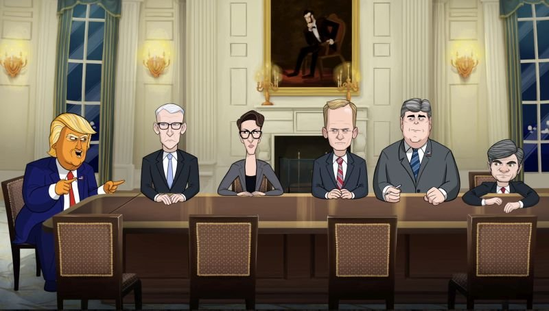 Showtime Orders Even More Our Cartoon President Episodes