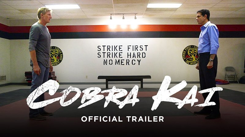 Cobra Kai Official Trailer Released!