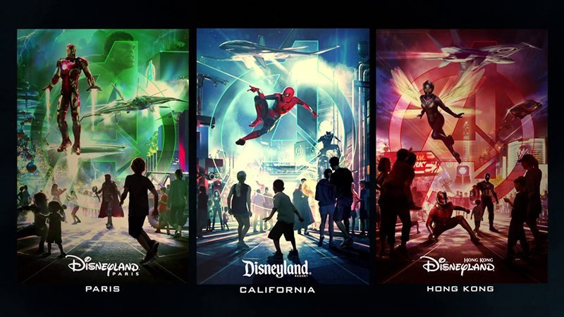 Avengers attractions are coming to Disneyland parks around the world