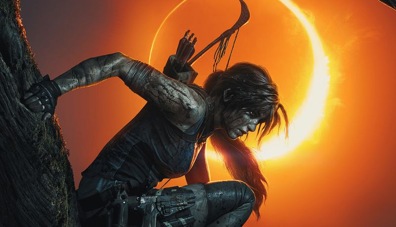 New Shadow of the Tomb Raider Art Reveals a Bloody Lara Croft