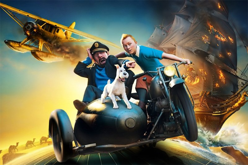Steven Spielberg offers optimistic Tintin update