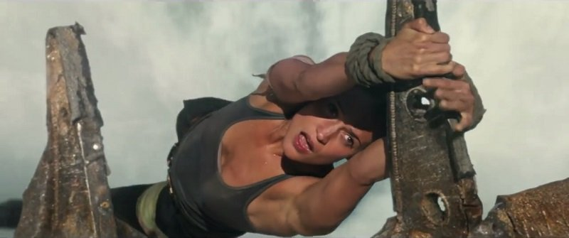 Lara Croft is in Distinct Dilemmas in New Tomb Raider Clips