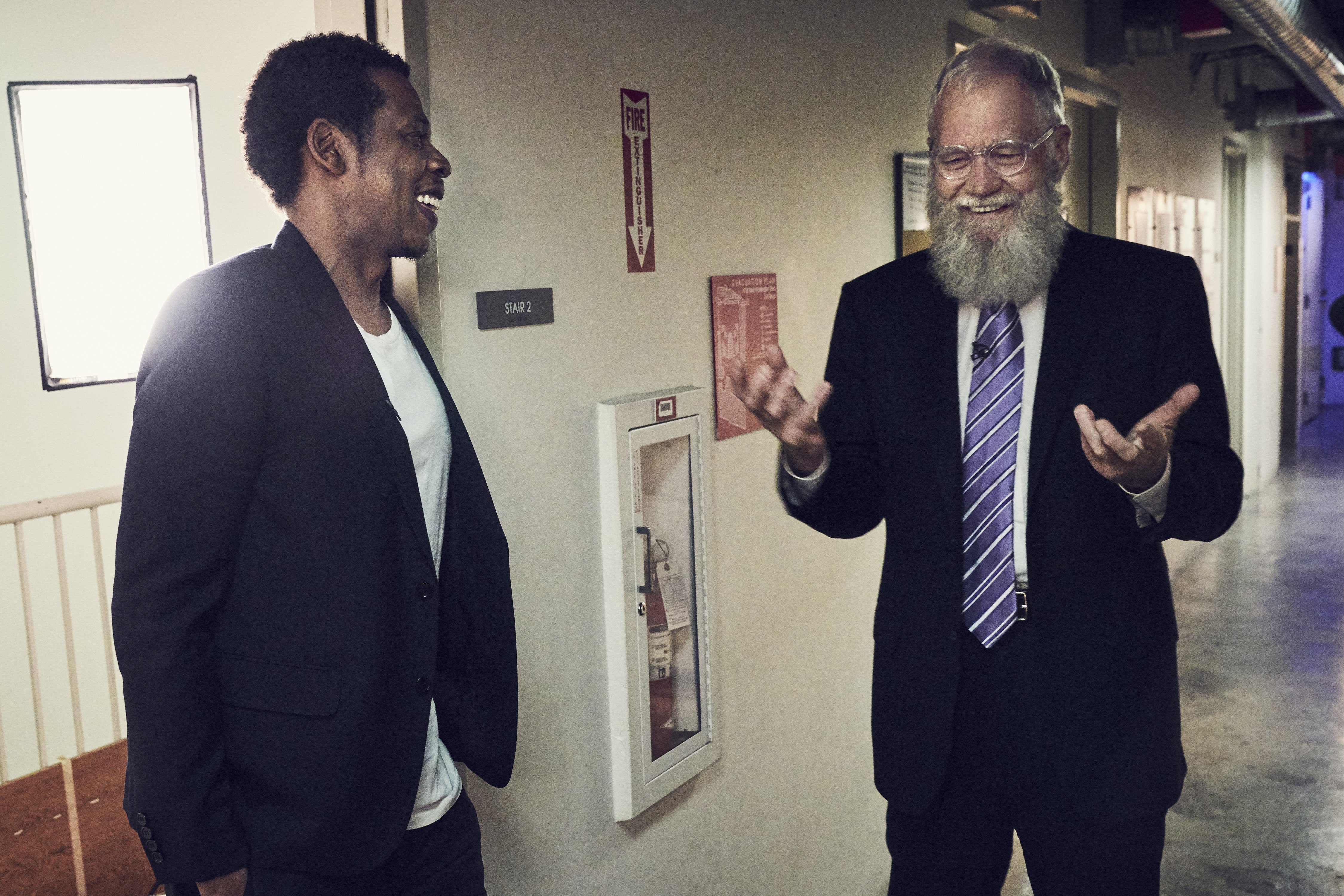 Get a First Look at Jay-Z Breaking Down the Game for David Letterman