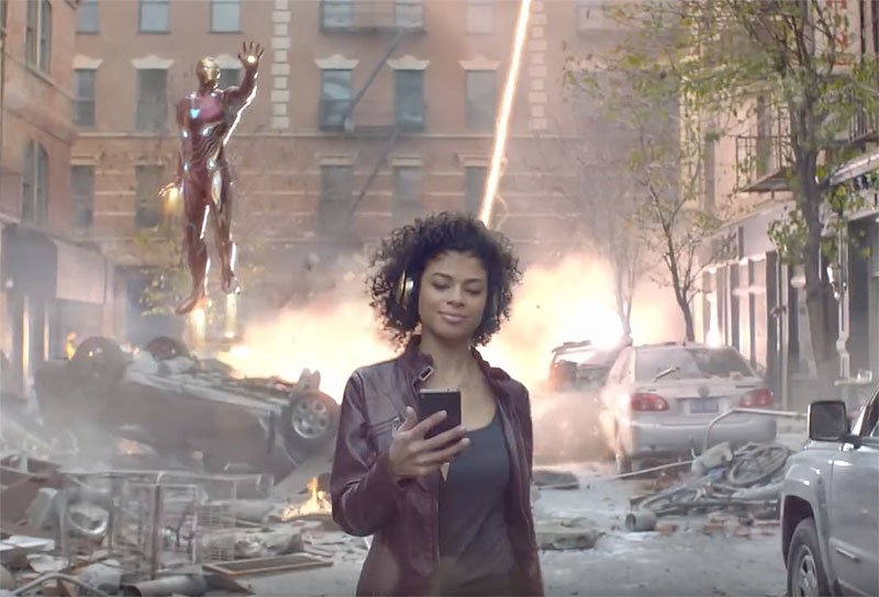 Infinity War Rocket Mortgage Commercial, Plus Billboard Art