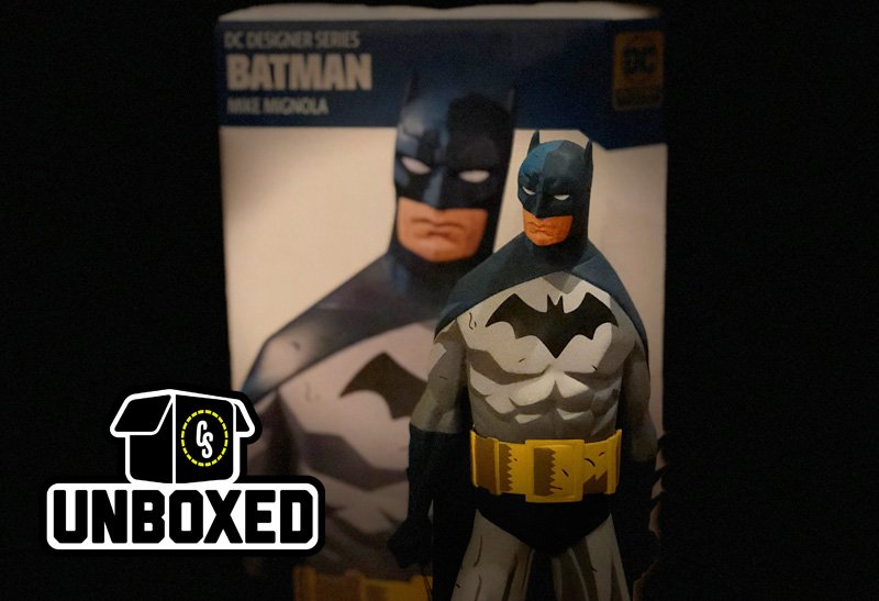 CS Unboxed: DC Collectibles Mike Mignola Batman Statue