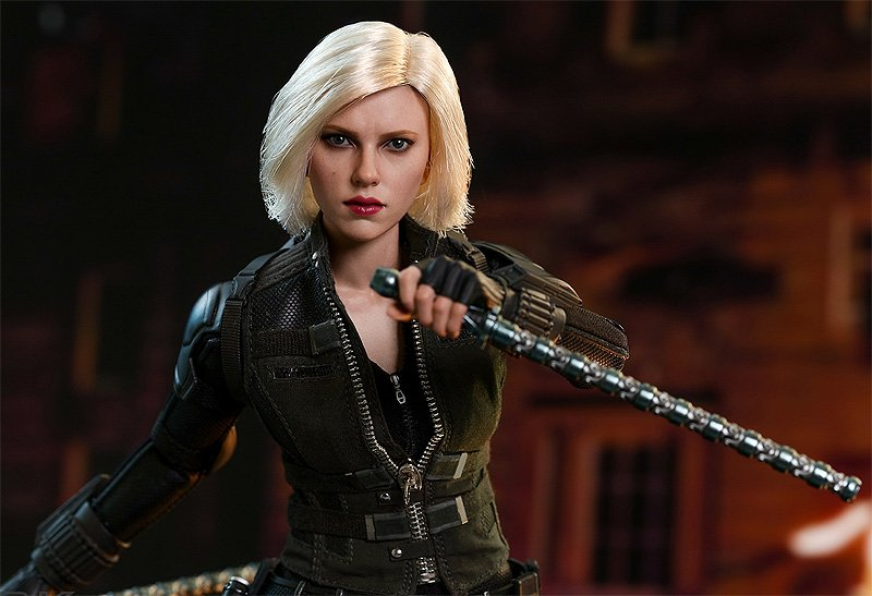 Hot Toys Black Widow Infinity War Figure Revealed