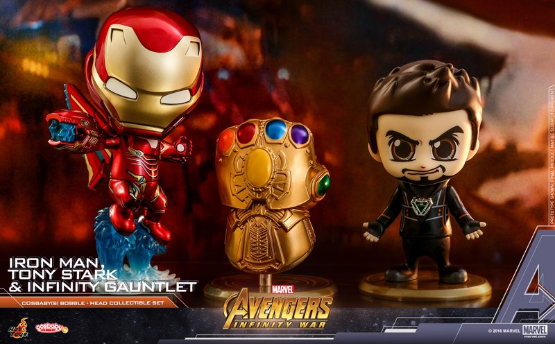 Additional Avengers Cosbaby Bobbleheads Revealed
