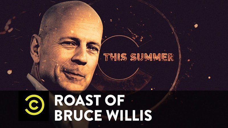 Bruce Willis Will Get Roasted on Comedy Central This Summer