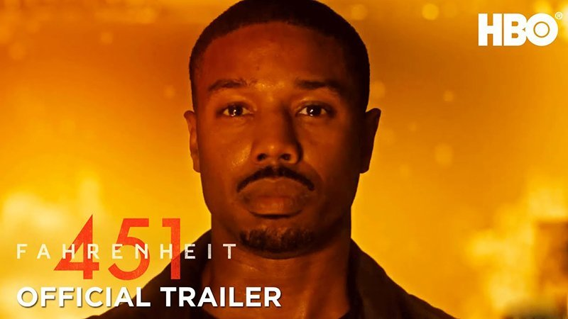 HBO's Fahrenheit 451 Official Trailer Released!