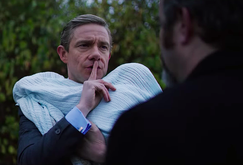Martin Freeman Talks Ghost Stories and Ross's Role in the MCU
