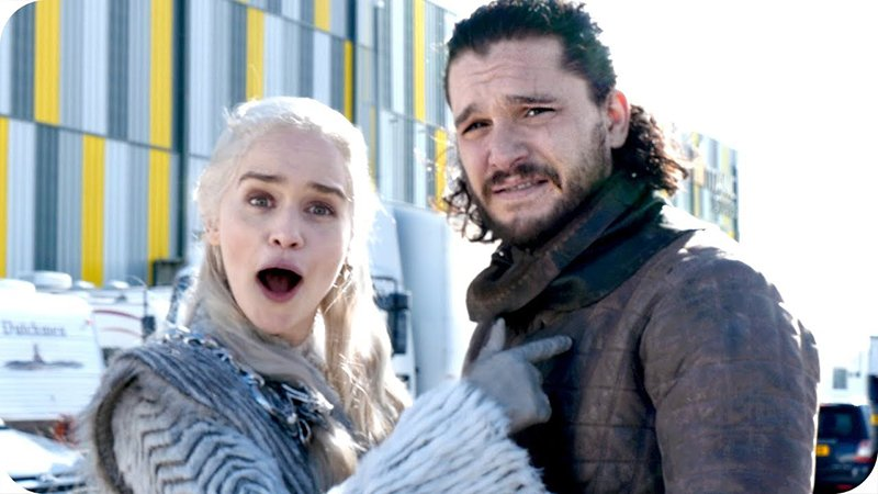 Emilia Clarke Teases 'Game of Thrones' Set Visit for Charity