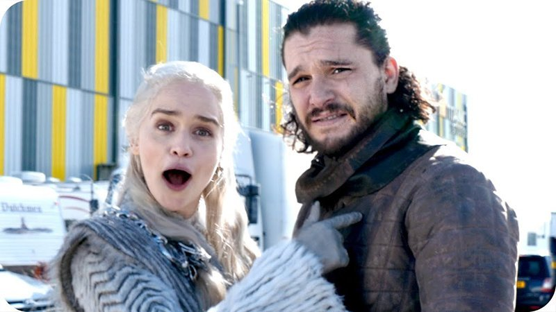 Go Behind the Scenes on the Game of Thrones Set with Emilia Clarke