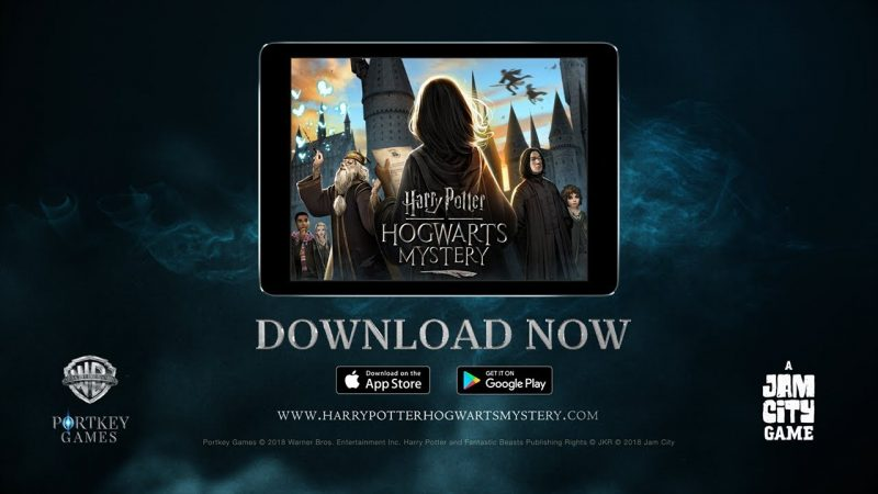 Harry Potter: Hogwarts Mystery App Game Officially Launched!