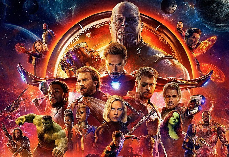 avengers infinity war bluray