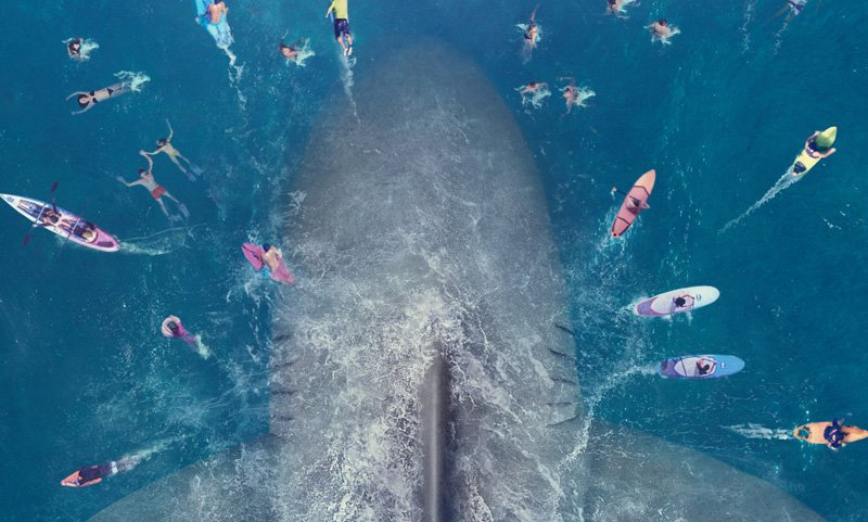 Take a Big Big Bite Out of The Meg Trailer and Poster