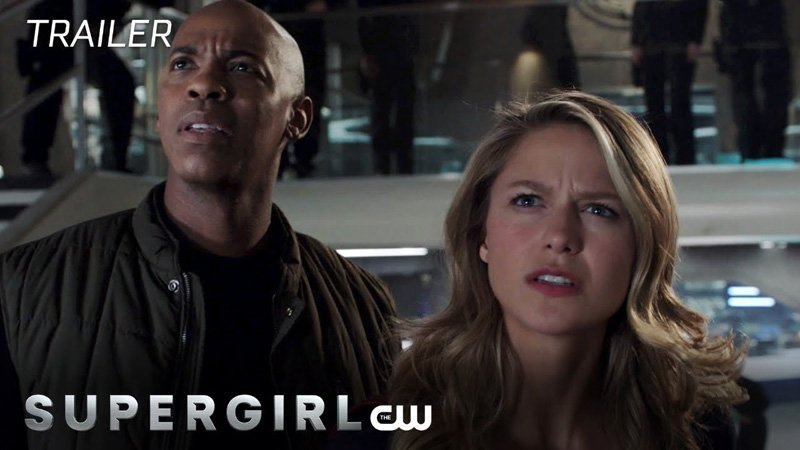 Supergirl Returns with the Extended Schott Through the Heart Trailer