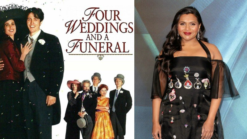 Mindy Kaling adapting 'Four Weddings and a Funeral' into series