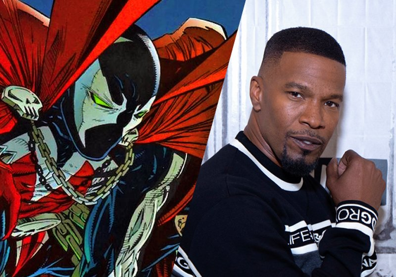 Jamie Foxx Confirmed to Play Spawn in Todd McFarlane's Reboot!