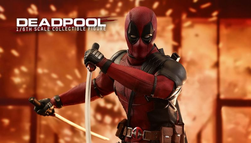 Hot Toys Reveals First Deadpool 2 Collectible Figure