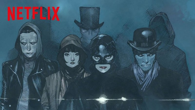 The Magic Order Trailer Unveils Netflix's First Comic Book