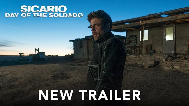 Del Toro & Brolin Face-off in New Sicario: Day of the Soldado Trailer