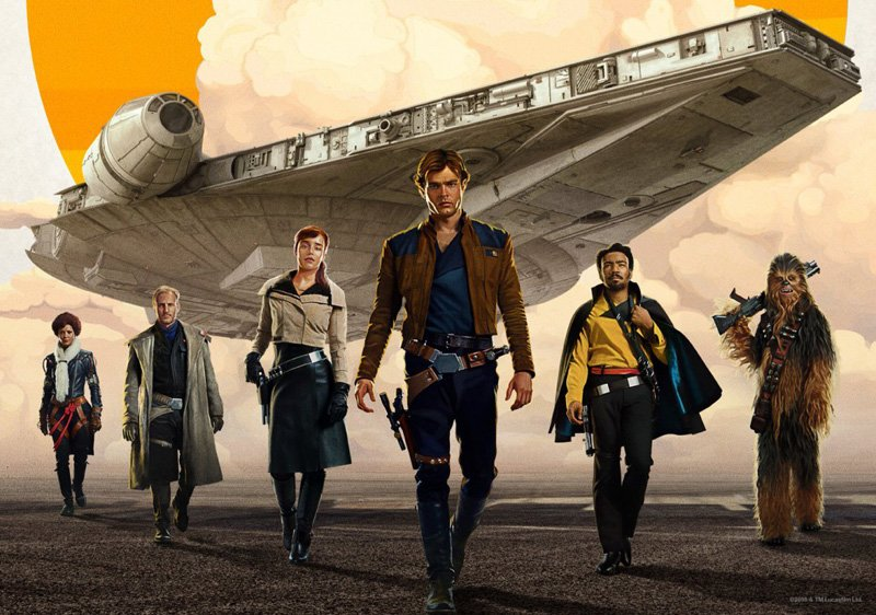 Star Wars movie reveals from the new Han Solo actor