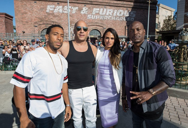 Vin Diesel Helps Debut New Fast And Furious Ride At Universal Orlando