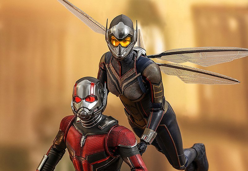 Ant-Man and The Wasp Hot Toys Fly Onto the Web