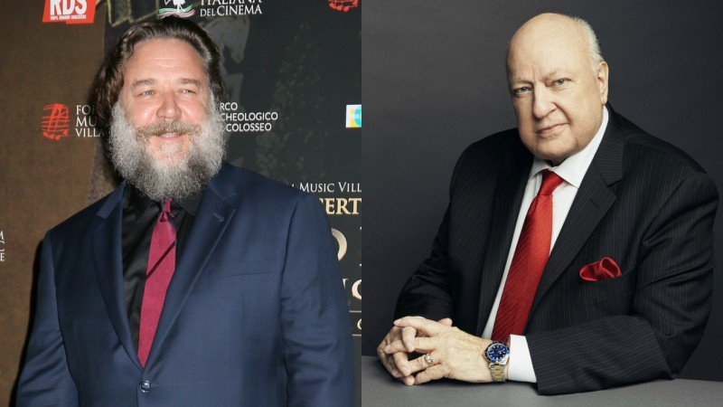 Russell Crowe to star as Fox News' Roger Ailes in Showtime miniseries