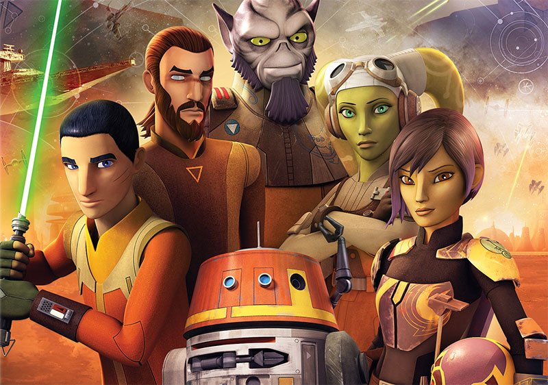 Star Wars Rebels Season 4 Blu-ray Details Announced