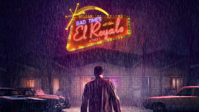 new bad times at the el royale tv spot welcomes you to the motel. Black Bedroom Furniture Sets. Home Design Ideas