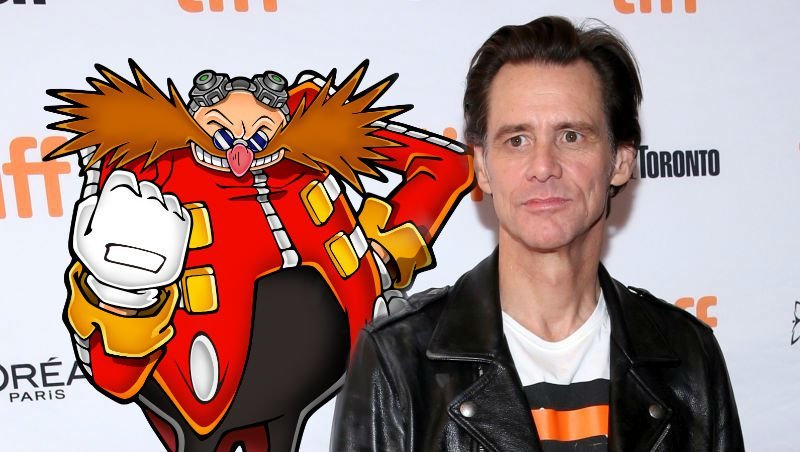 Jim Carrey to Play Robotnik in Sonic the Hedgehog Movie!