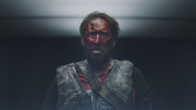Nicolas Cage is on a rampage in trailer for 'Mandy'