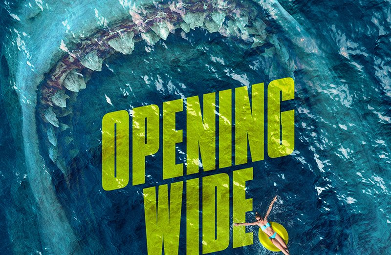 Take a Bite Out of Summer in The Meg Poster