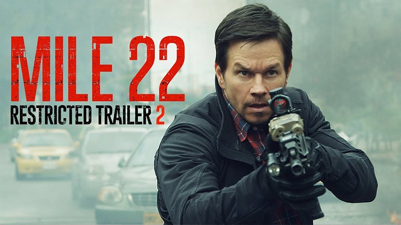 New Mile 22 Red Band Trailer Released!
