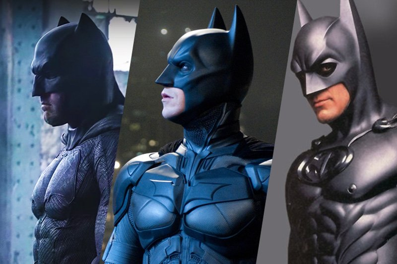 All 10 Movie Batman Stars Ranked By Chin