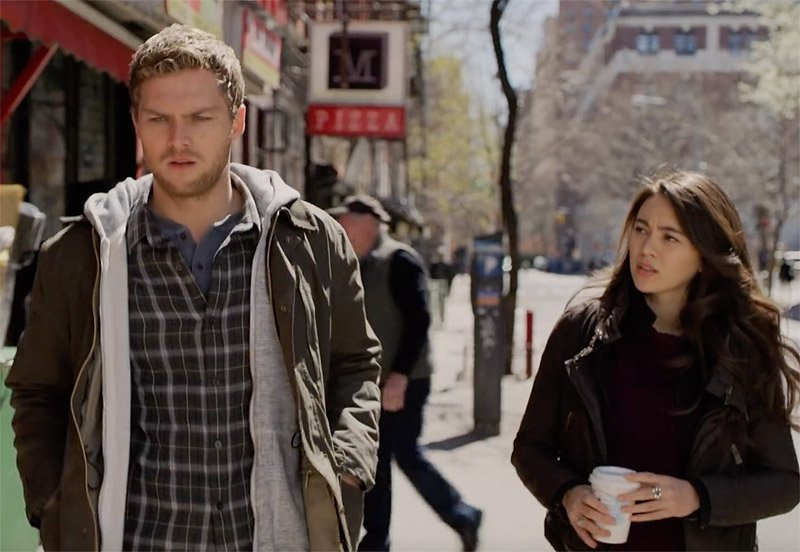 Danny and Colleen in a New Iron Fist Season 2 Teaser