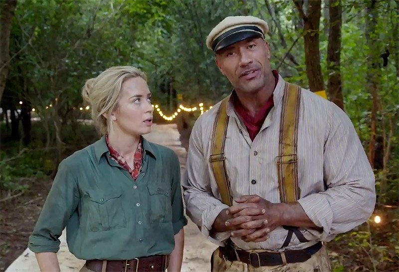 Jungle Cruise Movie: Dwayne Johnson & Emily Blunt Debut Video from Set