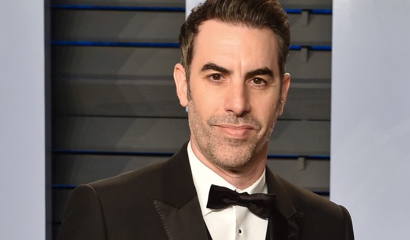Sacha Baron Cohen posts video teasing Trump