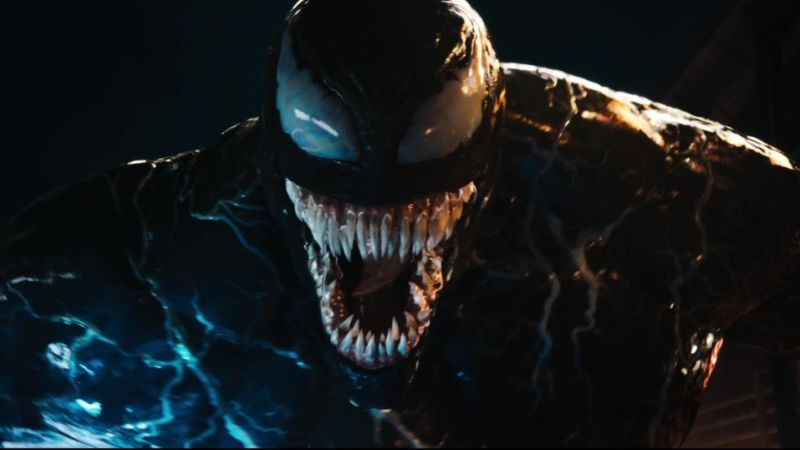 'Venom' puts its wisecracking monster center-screen in latest trailer